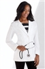 "White Swan META - Ladies' 29"" Meta Pro Tri-Blend Stretch Consultation Lab Coat. 824"