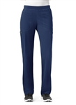 WonderWink HP - Hybrid - Women's Modern Straight Leg Pull On Scrub Pant. 5112
