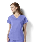 WonderWink Next - Charlotte - Women's V-neck Scrub Top. 6119