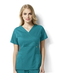 WonderWink Next - Elizabeth - Women's Mock Wrap Scrub Top. 6219