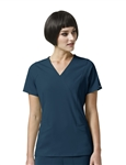 WonderWink HP - Axis - Women's Mock Wrap Scrub Top. 6312