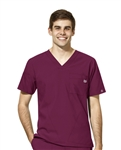 WonderWink - W123 Men's V-neck Scrub Top. 6355