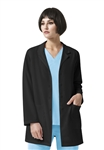 WonderWink - Luna - Women's Hidden Zipper Lab Coat. 7112