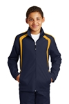 Sport-Tek - Youth Colorblock Raglan Jacket. YST60