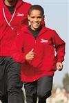 Sport-Tek - Youth Hooded Raglan Jacket. YST73
