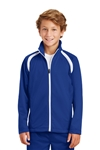 Sport-Tek - Youth Tricot Track Jacket. YST90