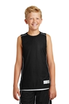 Sport-Tek - Youth PosiCharge Mesh Reversible Sleeveless Tee. YT555