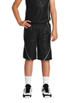 Sport-Tek - Youth PosiCharge Mesh Reversible Spliced Short. YT565