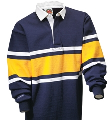 Barbarian Classic Navy / White / Gold Collegiate Stripe