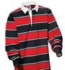 Barbarian Classic Black / White / Red Soho Stripe