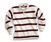 Barbarian Classic White / Dk Red / Black Niagara Stripe