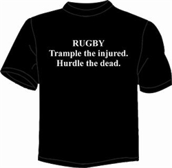 Wild Slogan Tee Shirts - Trample the injured
