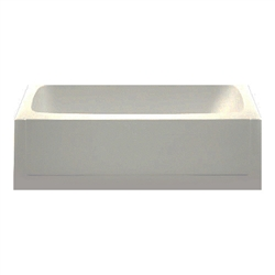 54 x 27 Mobile Home Bathtub Almond/Bone