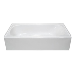54 x 27 Mobile Home Bathtub White