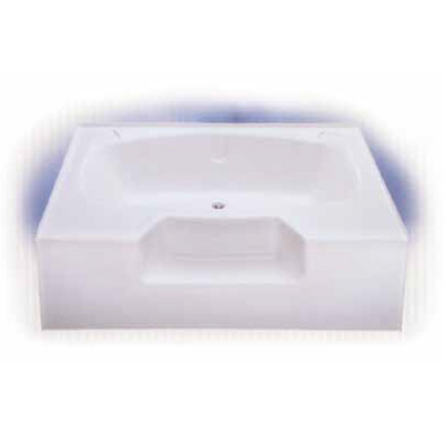60 Quot X 40 Quot Garden Tub With Outside Step Heavy Duty Abs