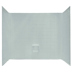 "54"" x 27"" 1 Piece Tub Wall Surround ABS"