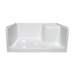 100120-1 Mobile Home Shower Bases on pans 24 inch wide, surrounds for, toilet stove, tub combo 54 27, stalls renovation, replacement kit, base for, door 20x62,