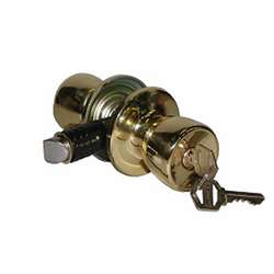 Interior Keyed Privacy Lock