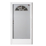 Elixir Series 8000 Vinyl Steel Combo Door -Fan Light