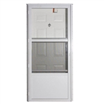 Elixir Series 7000 Residential Vinyl Steel Combo Door - Six Panel Style