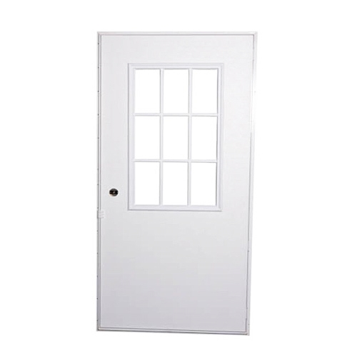 Mobile Home Replacement Doors Exterior: Mobile Home Replacement Exterior Door W/ Cottage Window