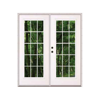 Out Swing Mobile Home French Exterior Double Doors