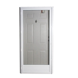 "34"" x 78"" LH Elixir Series 9000 Housetype Combo Front Door 6 Panel"