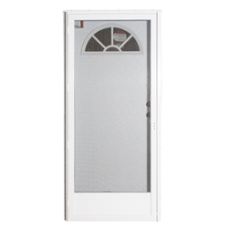 "34"" x 76"" LH Elixir Series 7000 Housetype Combo Front Door with Fan Light"