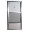 "34"" x 80"" LH Elixir Series 6000 Housetype Combo Front Door W/Knocker & Viewer"
