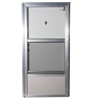 "34"" x 80"" RH Elixir Series 6000 Housetype Combo Front Door W/Knocker & Viewer"