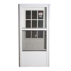 "34"" x 76"" LH Elixir Series 7000 Housetype Combo Front Door W/Cottage Window"