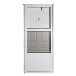"34"" x 76"" LH Elixir Series 7000 Housetype Combo Front Door 6 Panel"