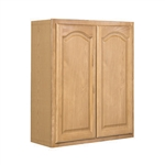 Kitchen Wall Cabinet Oak 18x30x12