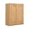 Kitchen Wall Cabinet Oak 27x30x12