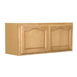 Kitchen Bridge Cabinet Oak 30x12x12