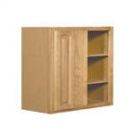 Kitchen Wall Corner Cabinet Oak 24x30x12