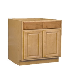 Kitchen Base Cabinet Oak 36x34.5x24