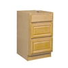 Bathroom Drawer Base Cabinet Oak 18x34.5x24