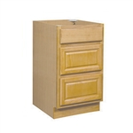 Bathroom Drawer Base Cabinet Oak 30x34.5x24
