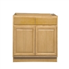 Kitchen Sink Base Cabinet Oak 60x34.5x24