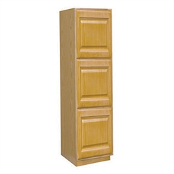 Kitchen Wall Pantry Cabinet Oak 24x84x24