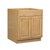Bathroom Vanity Cabinet Oak 18x34.5x16