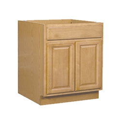 Bathroom Vanity Cabinet Oak 60x34.5x21
