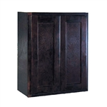 Kitchen Wall Cabinet Espresso 9x30x12