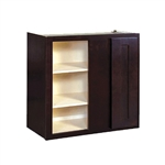 Kitchen Blind Wall Corner Cabinet Espresso 24x30x12
