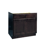 Kitchen Base Cabinet Espresso 15x34.5x24