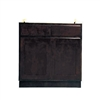 Kitchen Sink Base Cabinet Espresso 60x34.5x24
