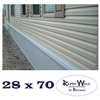 28 x 70 Rapid Wall Complete Mobile Home Insulated Skirting Package