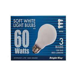 60 watt Bulbs 3pk