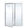 "Shower Door For 48"" x 34"" Pan"
